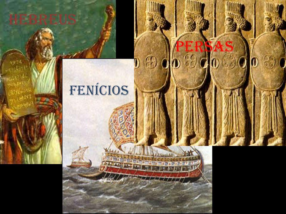 HEBREUS PERSAS FENÍCiOS