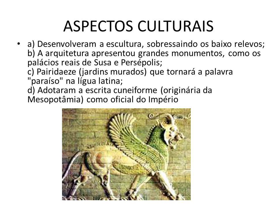 ASPECTOS CULTURAIS