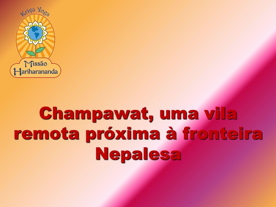 Champawat, uma vila remota próxima à fronteira Nepalesa