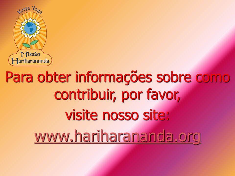Para obter informações sobre como contribuir, por favor,