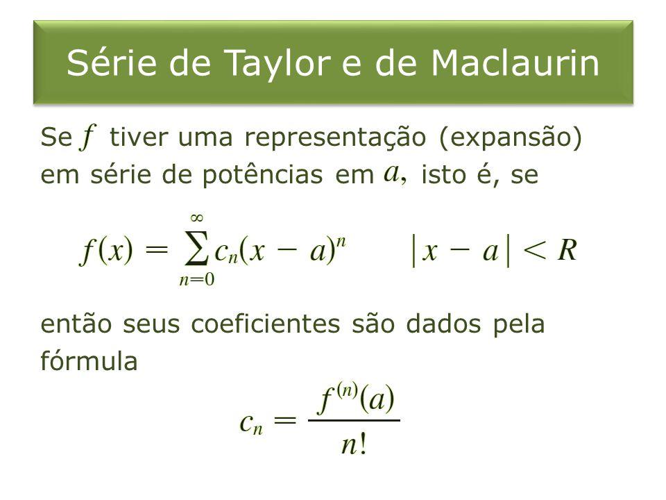 Série de Taylor e de Maclaurin