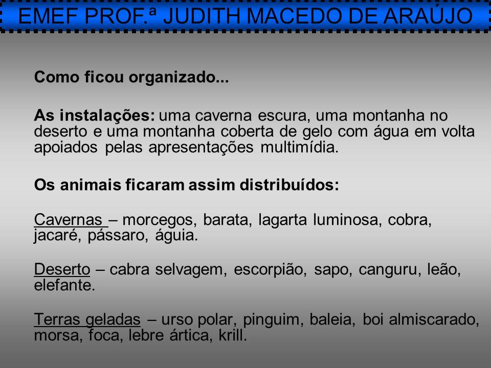 EMEF PROF.ª JUDITH MACEDO DE ARAÚJO