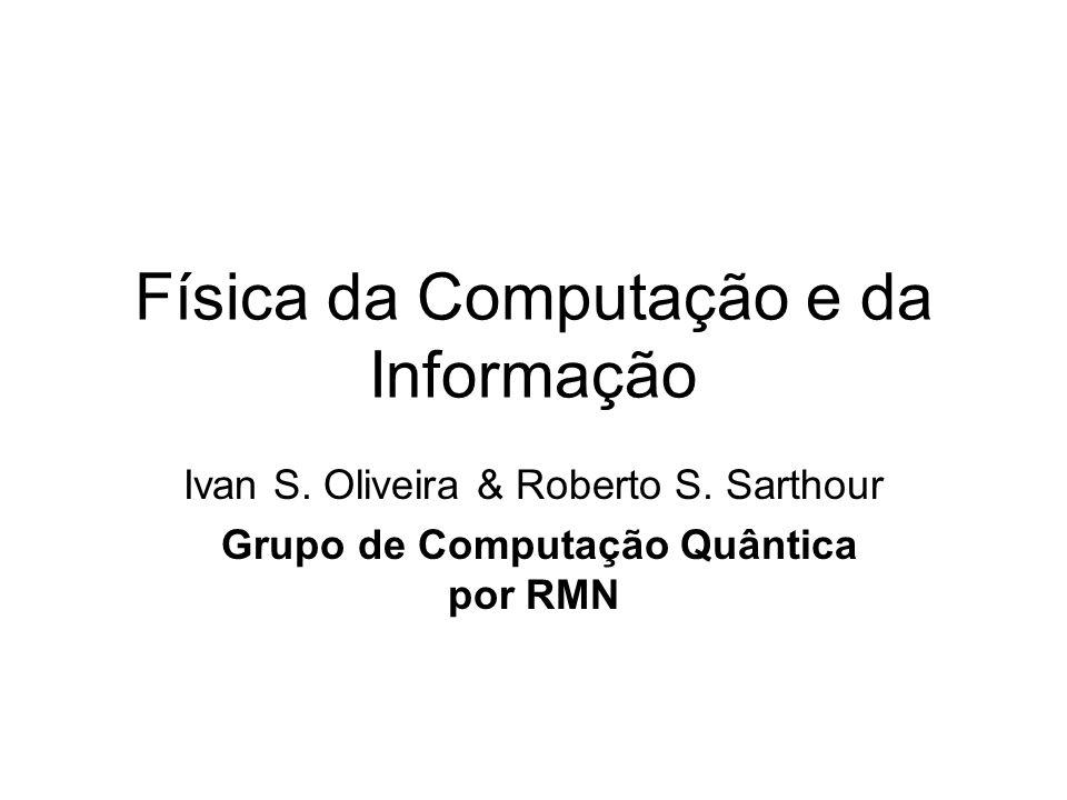 Física da Computação e da Informação