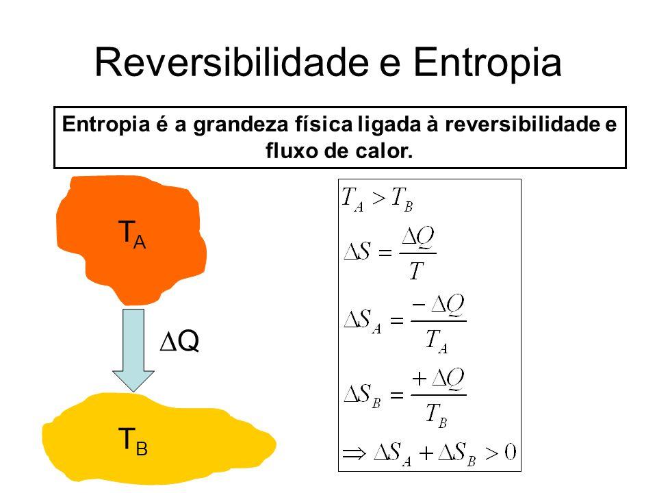 Reversibilidade e Entropia