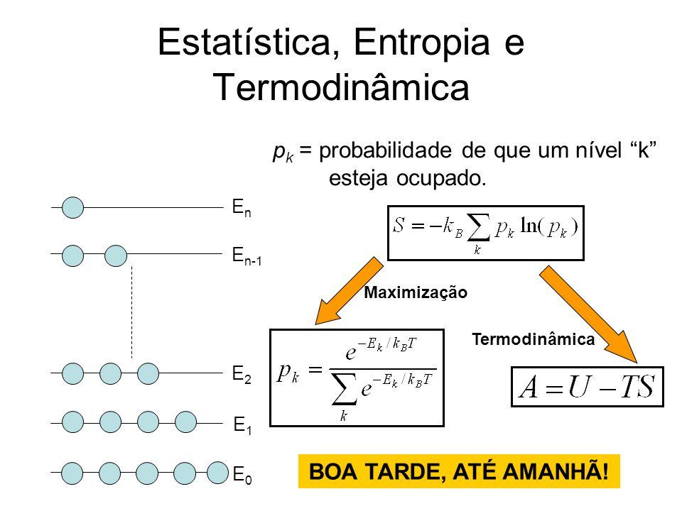 Estatística, Entropia e Termodinâmica