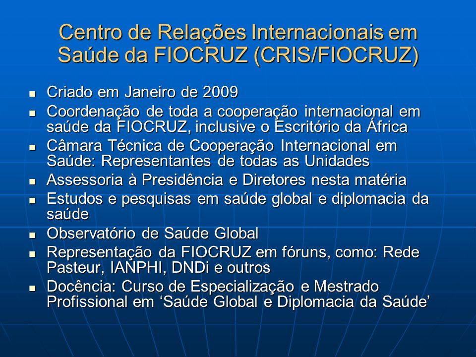 Centro de Relações Internacionais em Saúde da FIOCRUZ (CRIS/FIOCRUZ)