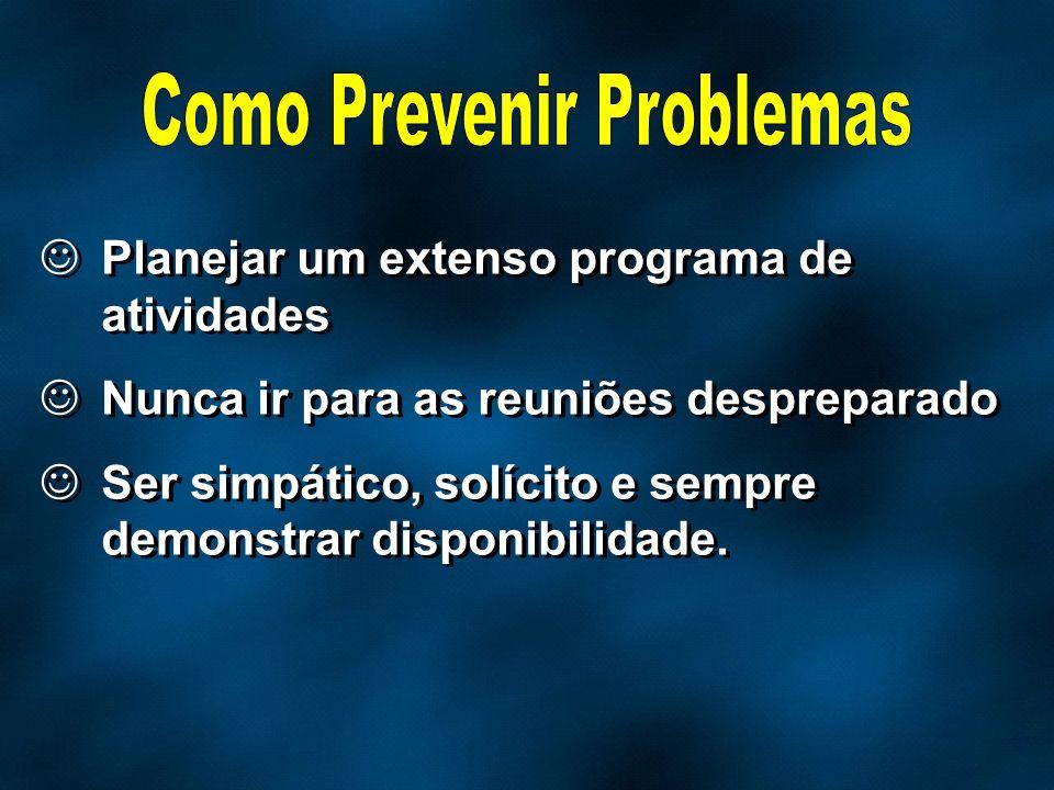 Como Prevenir Problemas