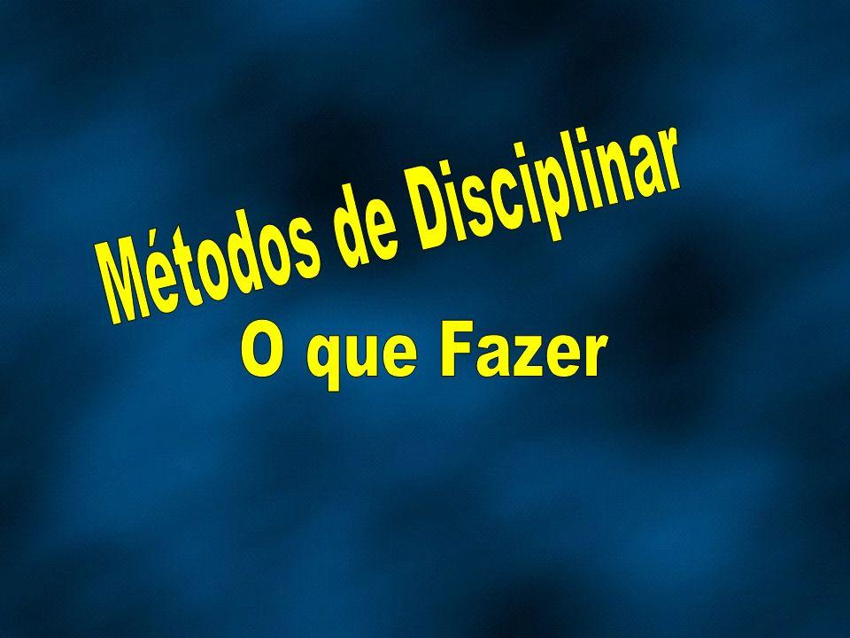 Métodos de Disciplinar