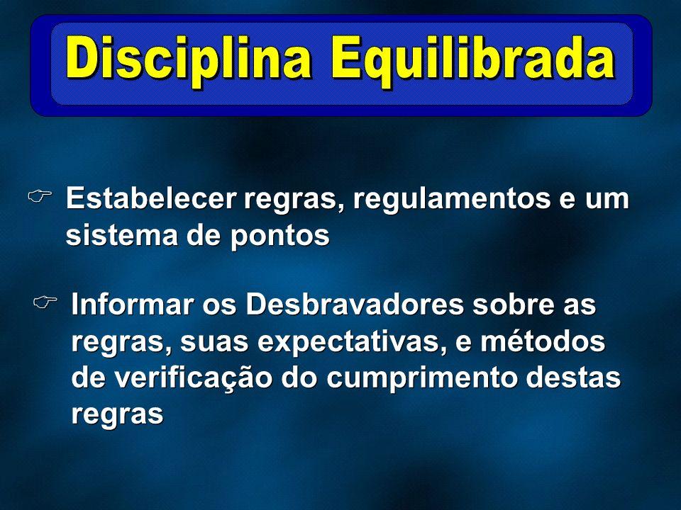 Disciplina Equilibrada