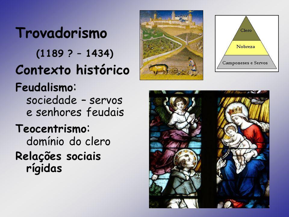 Trovadorismo (1189 – 1434) Contexto histórico