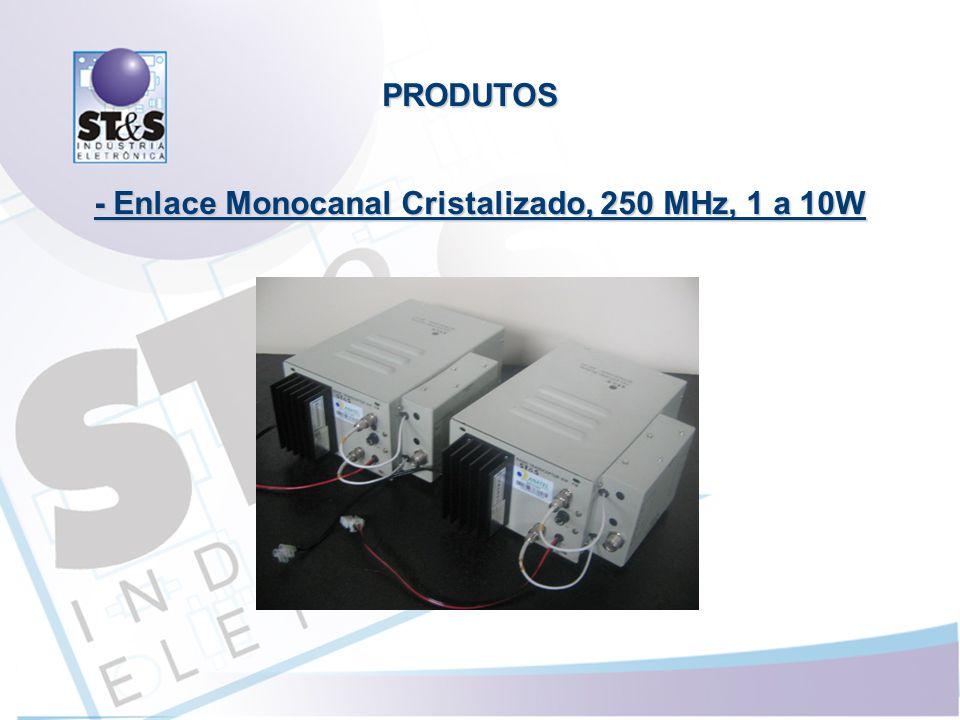 - Enlace Monocanal Cristalizado, 250 MHz, 1 a 10W