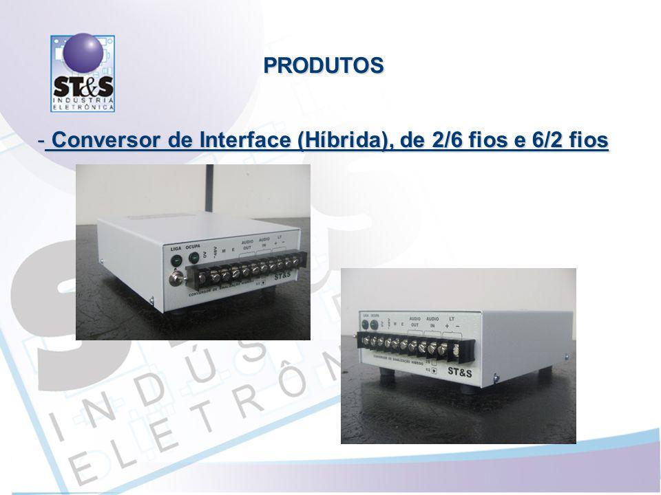 Conversor de Interface (Híbrida), de 2/6 fios e 6/2 fios