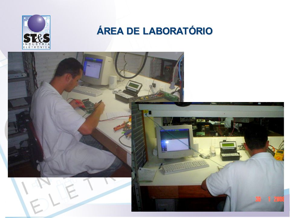 ÁREA DE LABORATÓRIO