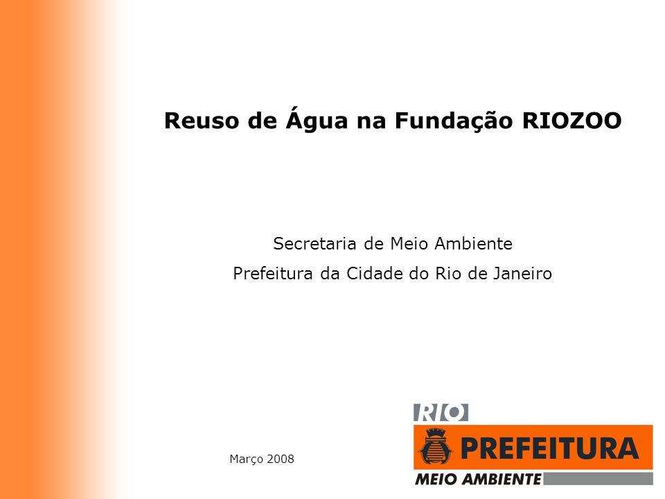 Reuso de Água na Fundação RIOZOO