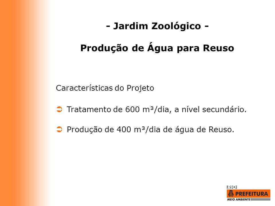 Produção de Água para Reuso
