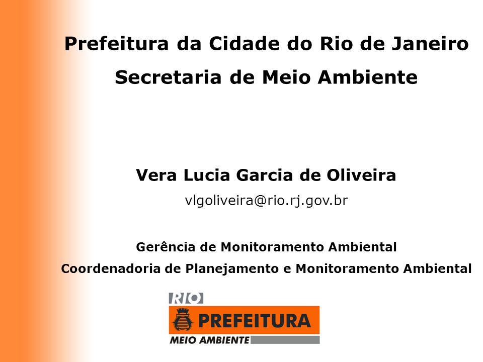 Prefeitura da Cidade do Rio de Janeiro Secretaria de Meio Ambiente