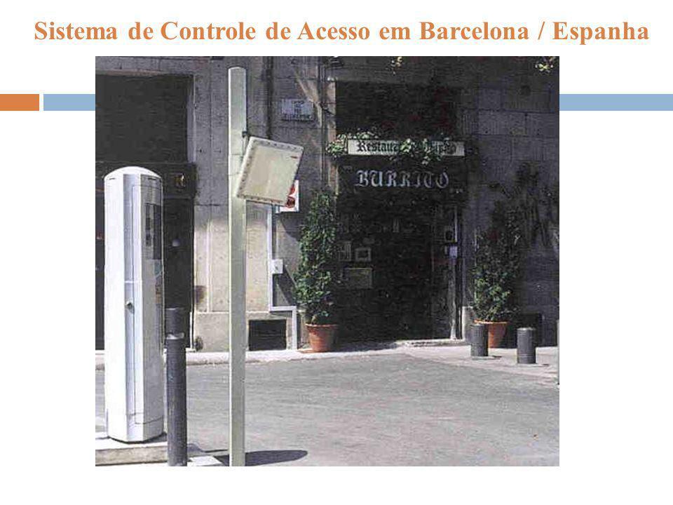 Sistema de Controle de Acesso em Barcelona / Espanha