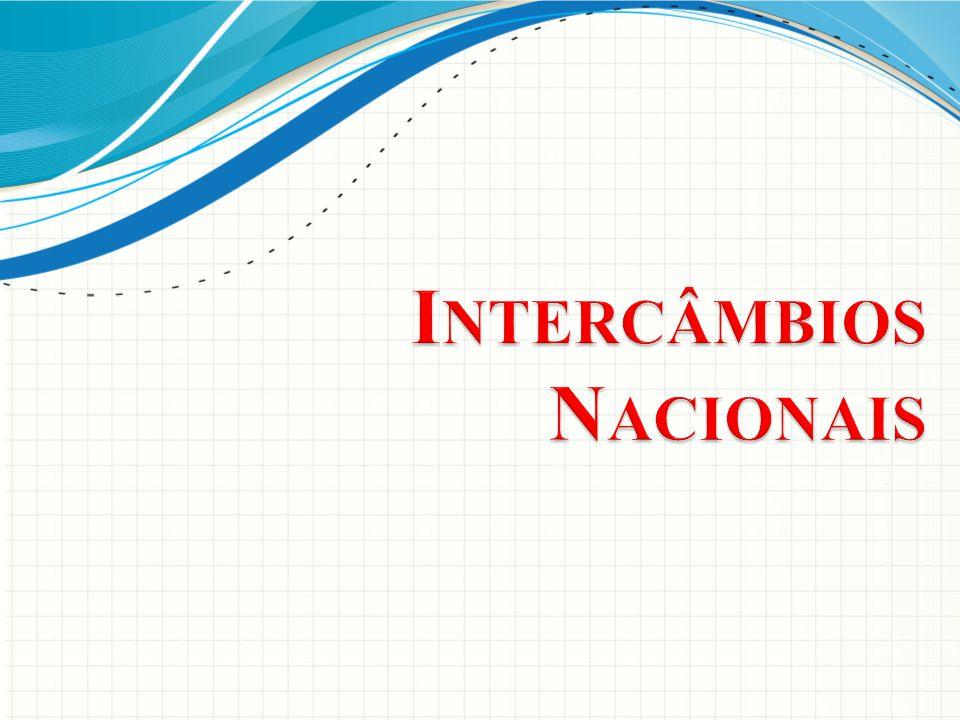 Intercâmbios Nacionais