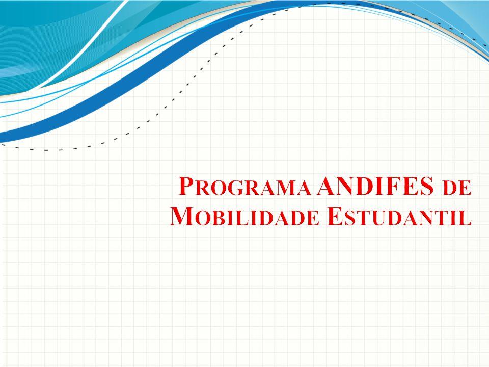 Programa ANDIFES de Mobilidade Estudantil
