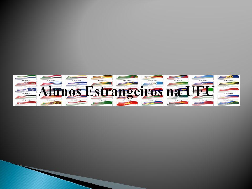 Alunos Estrangeiros na UFU