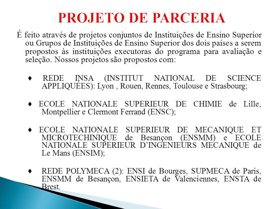 PROJETO DE PARCERIA