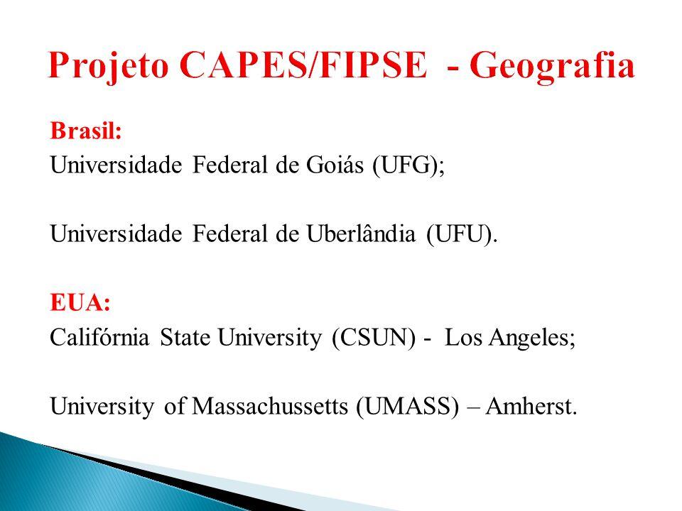 Projeto CAPES/FIPSE - Geografia