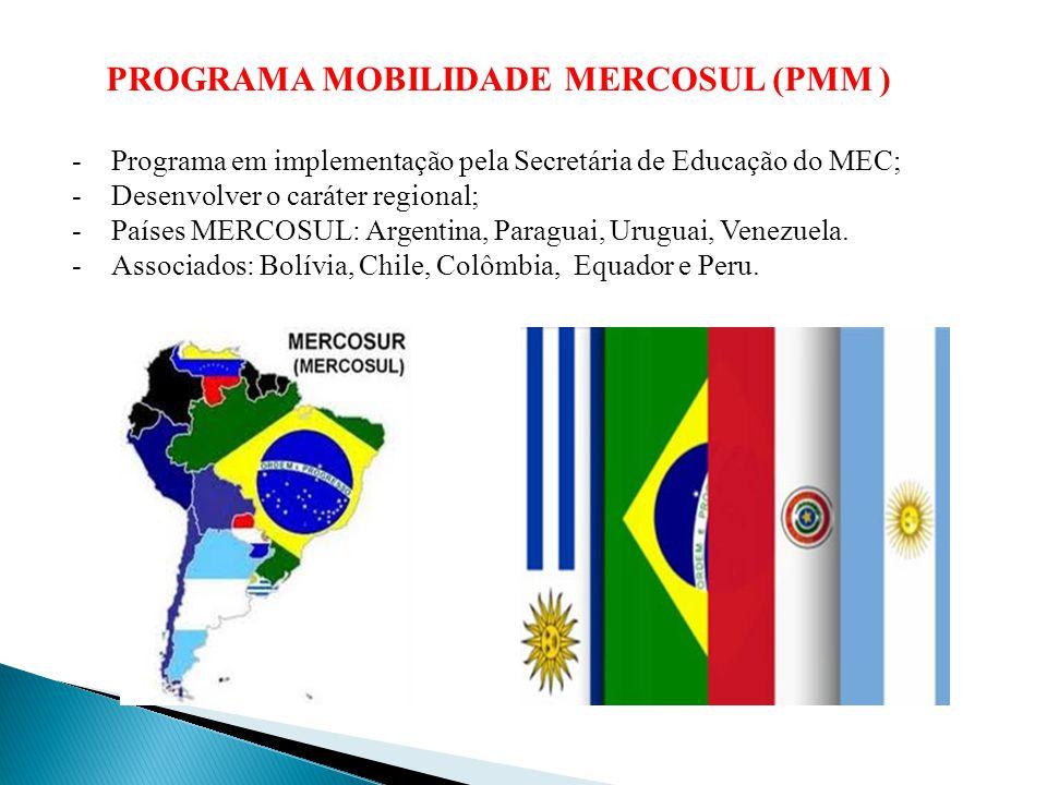 PROGRAMA MOBILIDADE MERCOSUL (PMM )