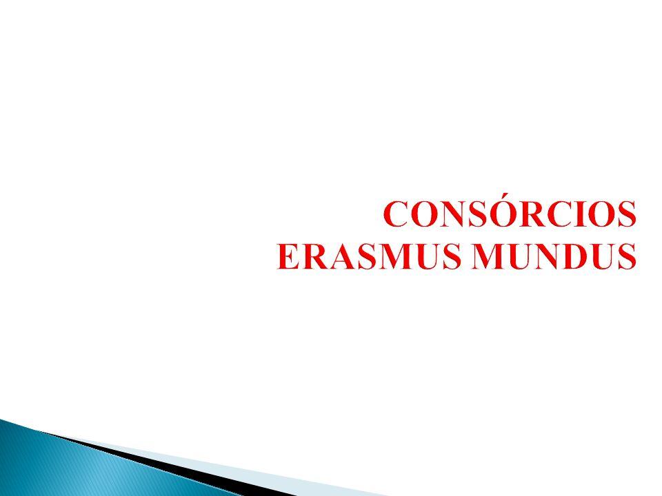 CONSÓRCIOS ERASMUS MUNDUS