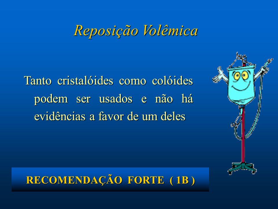 RECOMENDAÇÃO FORTE ( 1B )