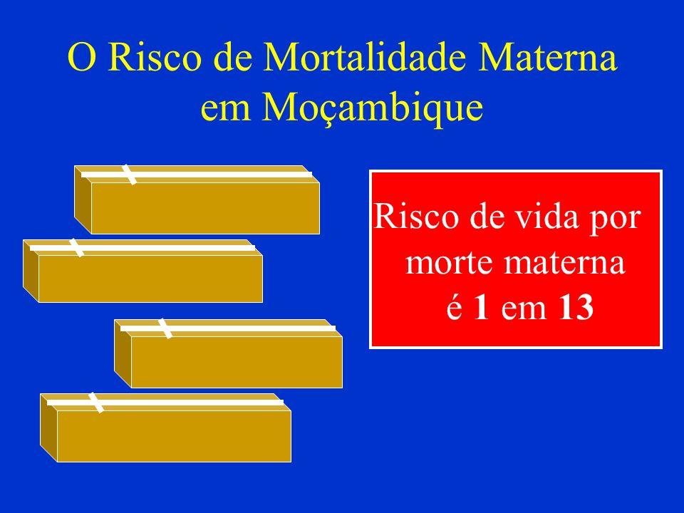 O Risco de Mortalidade Materna em Moçambique