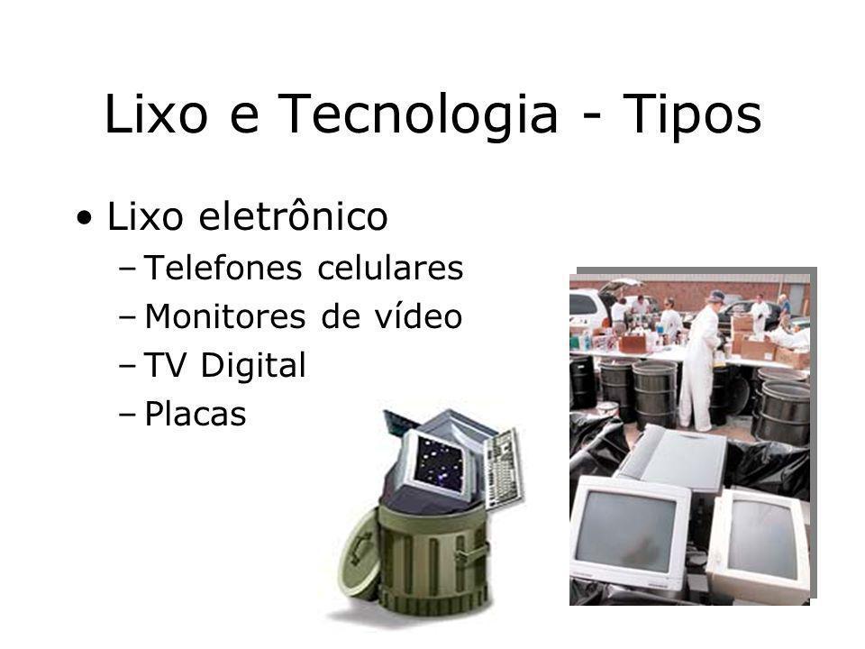 Lixo e Tecnologia - Tipos