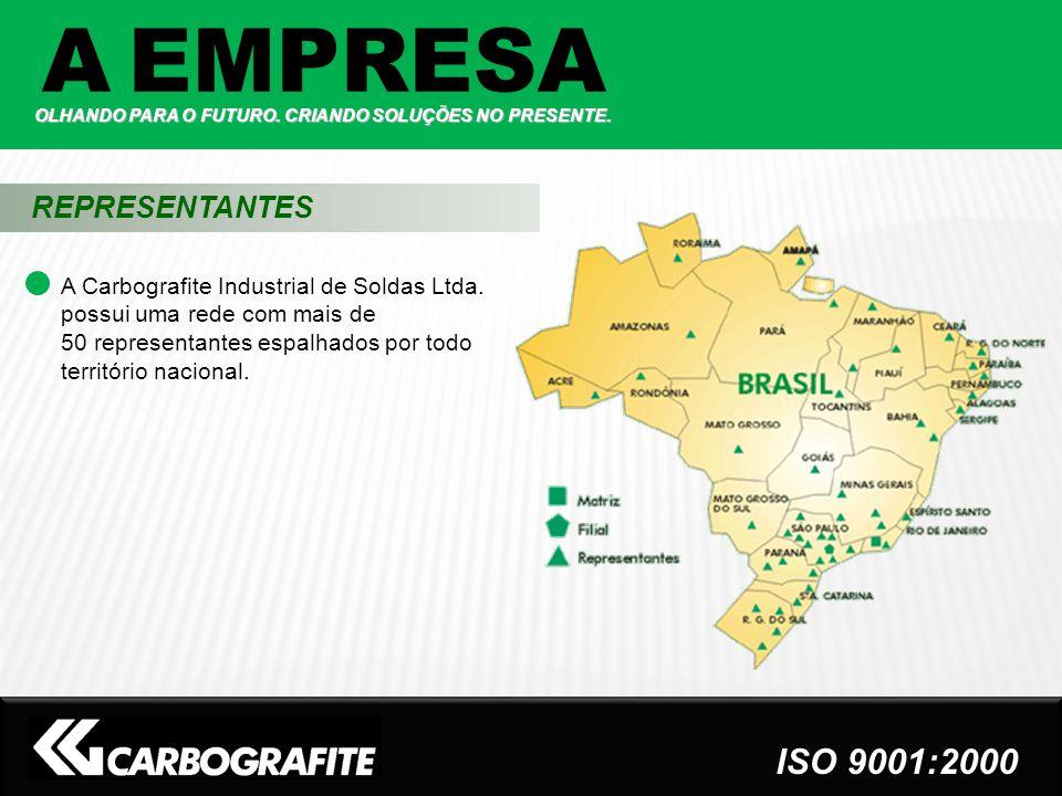 A EMPRESA REPRESENTANTES ISO 9001:2000