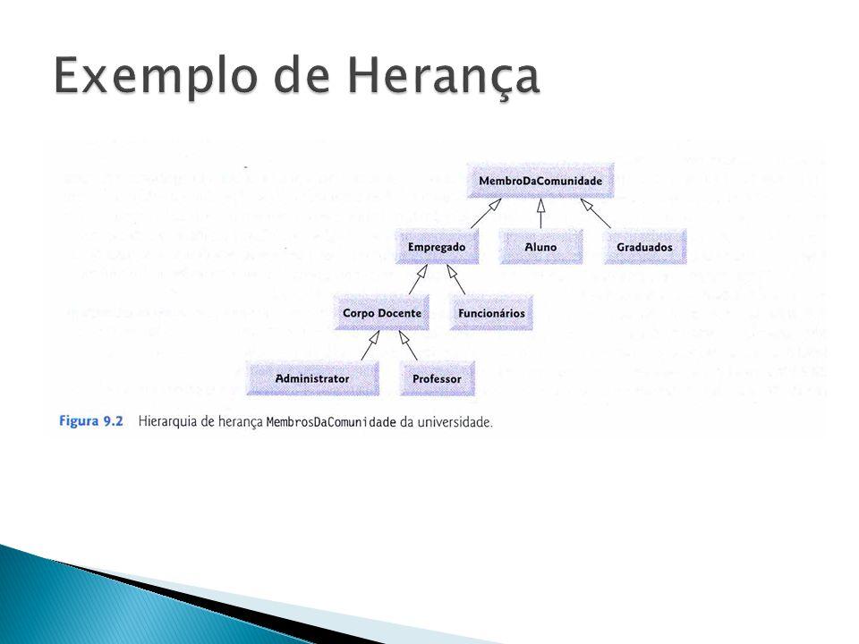 Exemplo de Herança