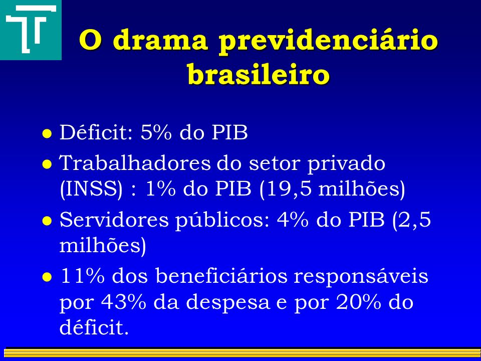 O drama previdenciário brasileiro