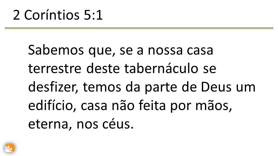 2 Coríntios 5:1