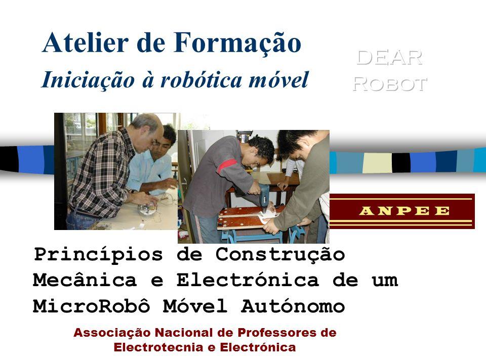 Atelier de Formação Iniciação à robótica móvel