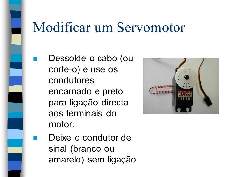 Modificar um Servomotor