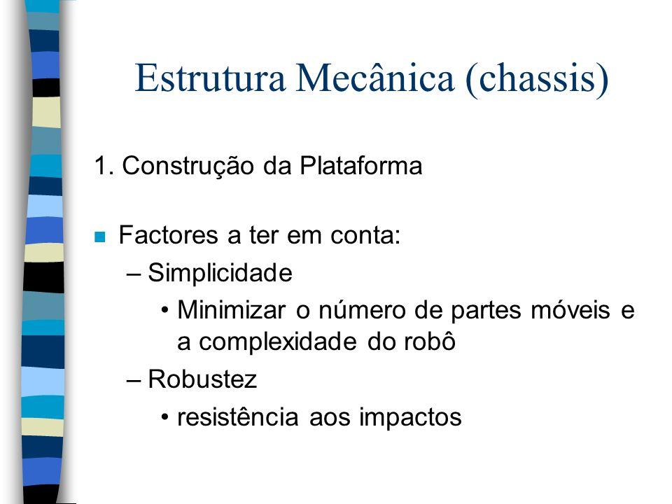 Estrutura Mecânica (chassis)