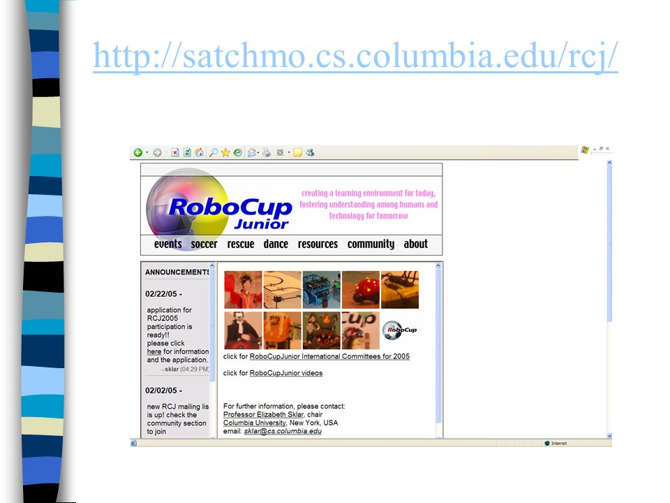 http://satchmo.cs.columbia.edu/rcj/