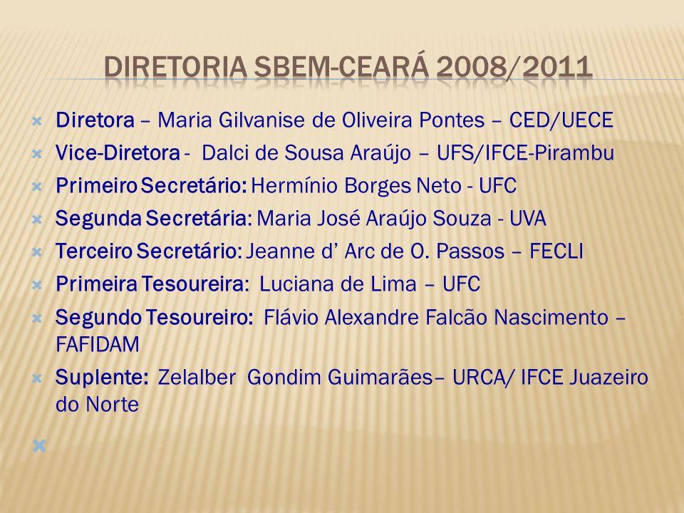 DIRETORIA Sbem-ceARÁ 2008/2011