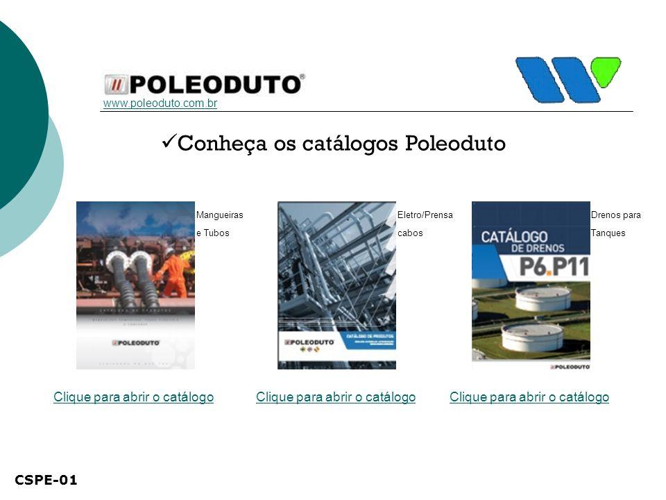 Conheça os catálogos Poleoduto