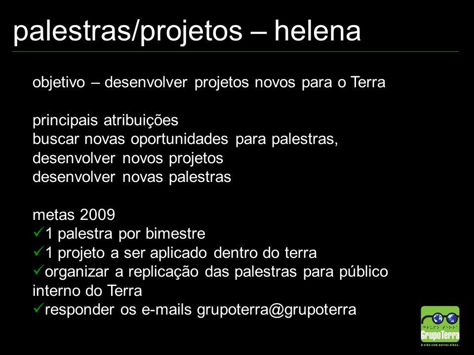 palestras/projetos – helena
