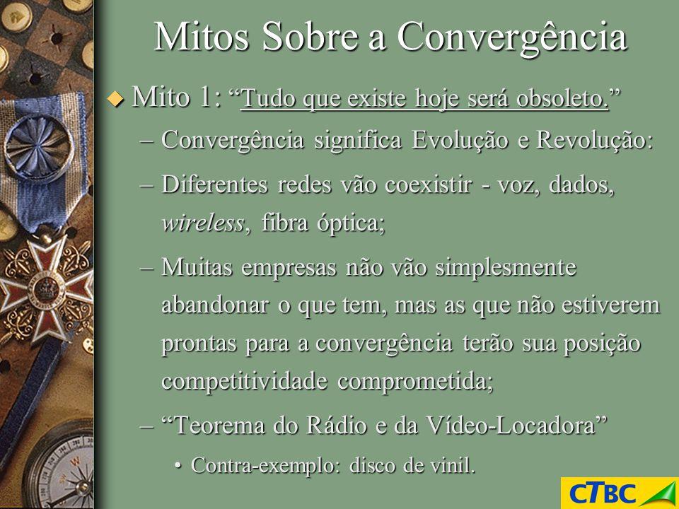 Mitos Sobre a Convergência