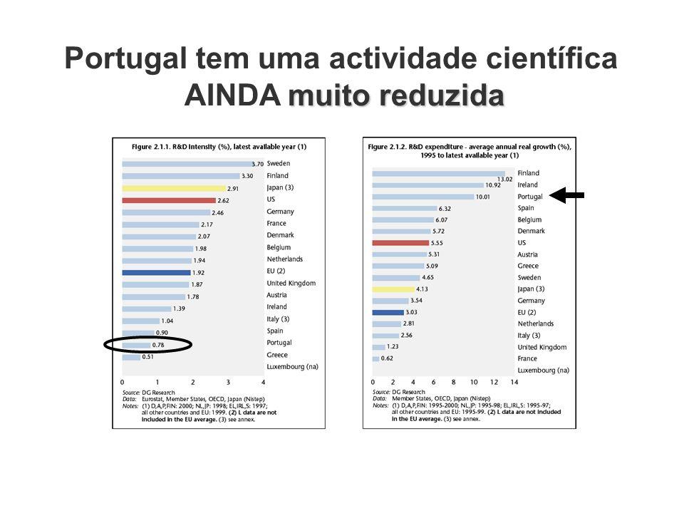 Portugal tem uma actividade científica