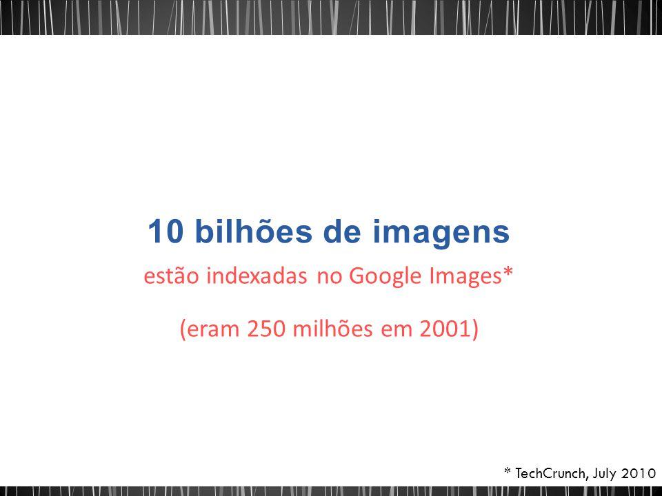 estão indexadas no Google Images*