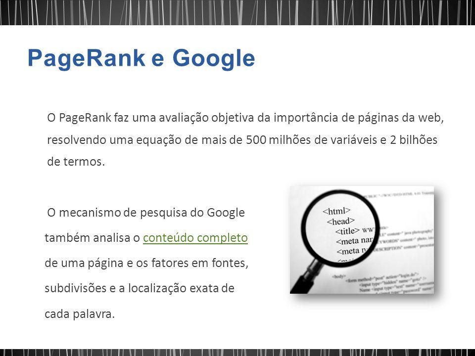 PageRank e Google