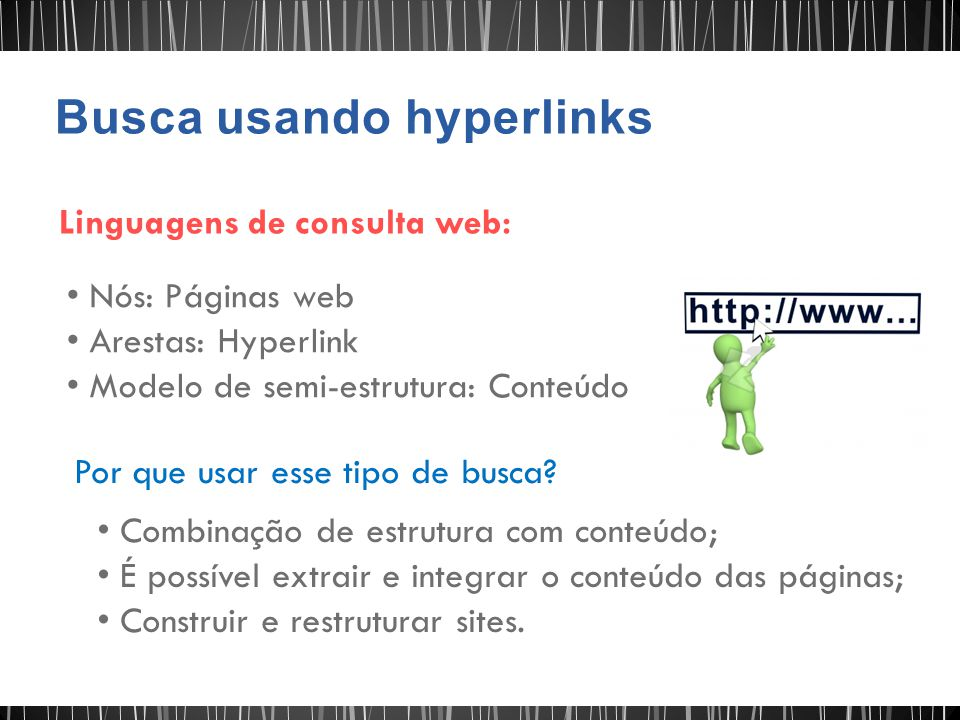 Busca usando hyperlinks
