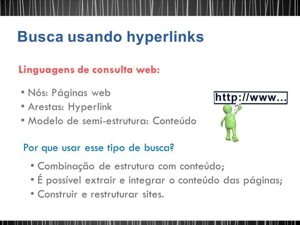 Busca usando hyperlinks