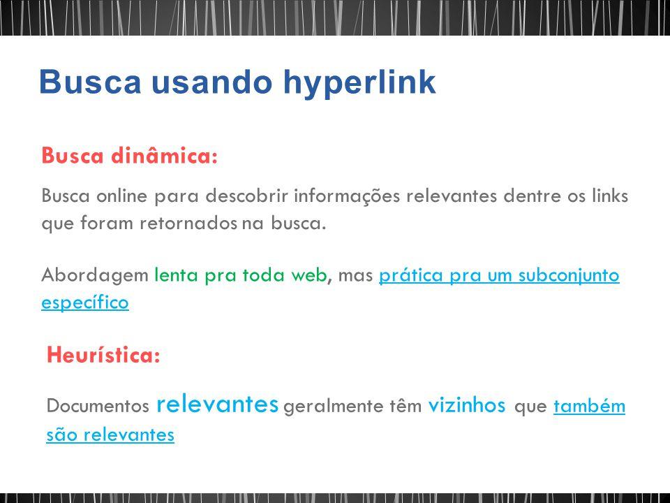 Busca usando hyperlink