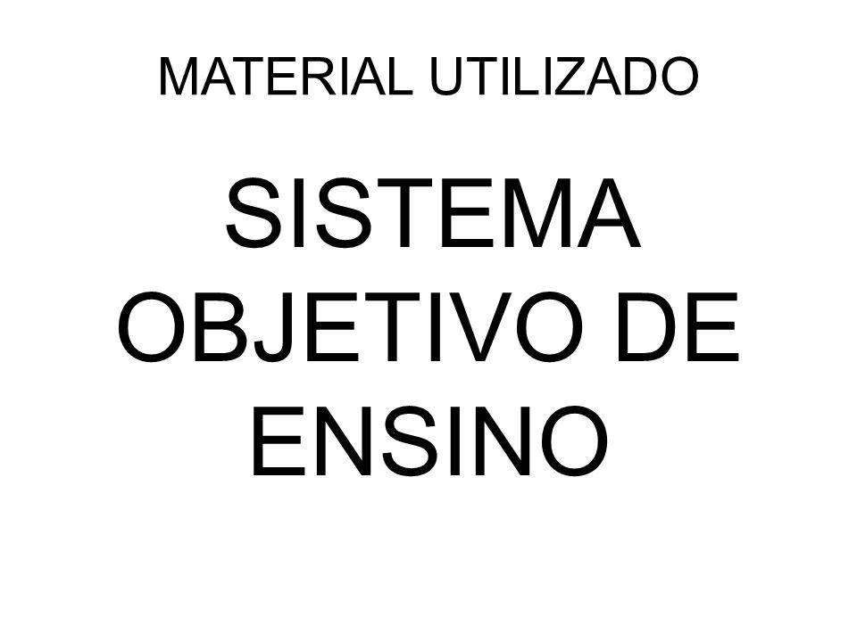 SISTEMA OBJETIVO DE ENSINO